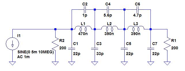 Filtre du module